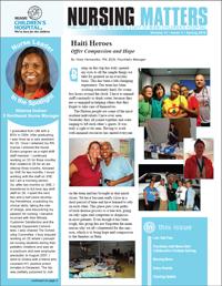 Nursing Matters Volume 11- Spring 2010