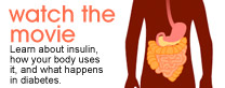 Watch the Movie: Learn about insulin, how your body uses it, and what happens in diabetes.