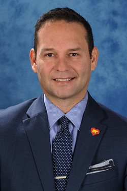 Portrait of Frank Garcia