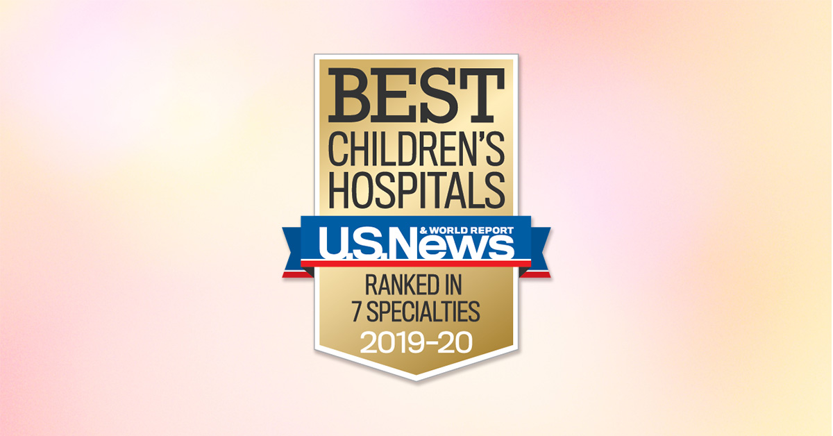 Awards & Recognitions | Nicklaus Children's Hospital