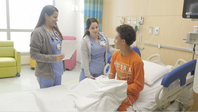 Nicklaus Children S Moves Patients Into Its New Advanced Pediatric