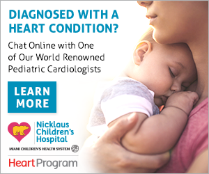 Chat online with one of our world renowned pediatric cardiologists