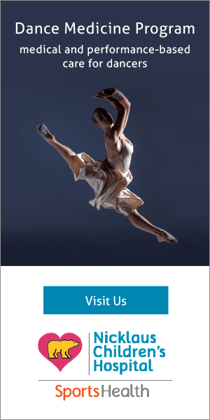 Learn more about our Dance Medicine Program