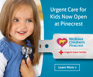 Nicklaus Children's Hospital Pinecrest Urgent Care Now Open