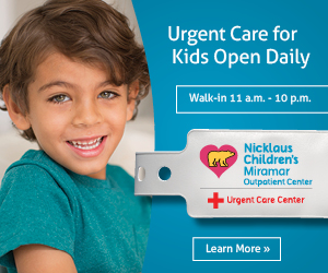 Nicklaus Children's Hospital Miramar Urgent Care