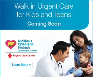 Nicklaus Children's Hospital Hialeah Urgent Care Comming Soon