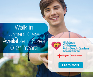 Walk-in Urgent Care Available in Sizez 0-21 Years