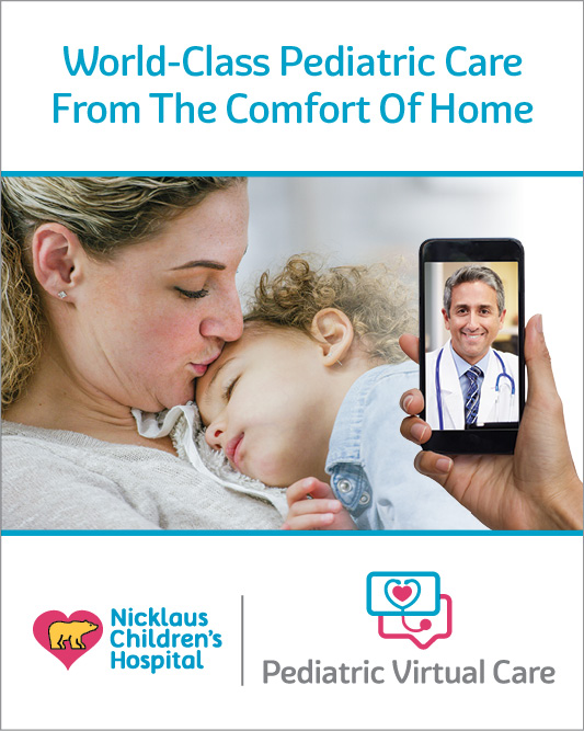 World-class pediatric care from the comfort of home