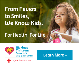Nicklaus Children's Miramar Outpatient Center offers Sports Medicine consultations.