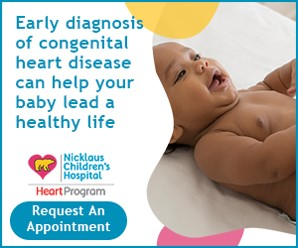 Early diagnosis of congenital heart disease can help your baby lead a healthy life