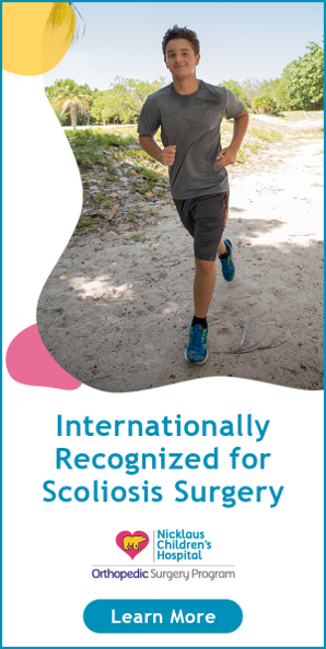 Internationally recognized for scoliosis surgery