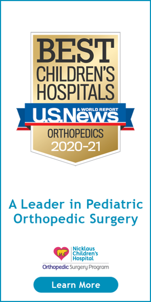 A Leader in Pediatric Orthopedic Surgery