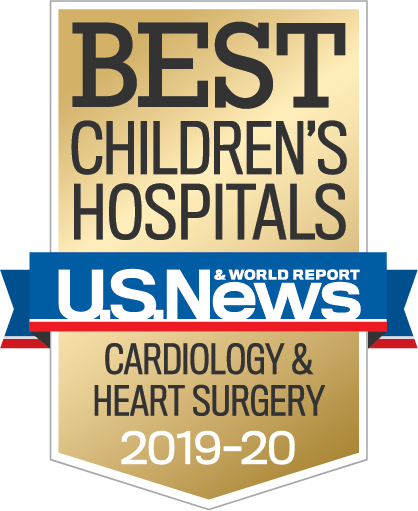 Recognized in Cardiology and Heart Surgery by U.S. News