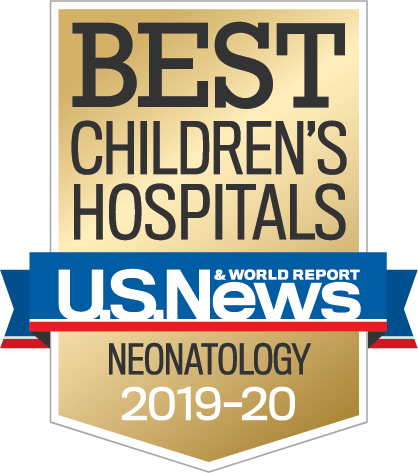 Ranked in Neonatology