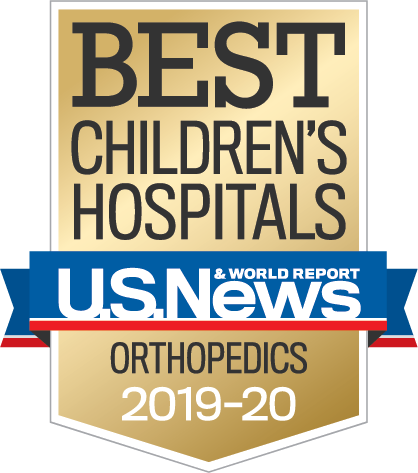 Ranked by U.S. News in Orthopedics