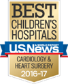 Best Children's Hospital Cardiology & Heart Surgery Award