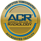 CT Scan Accredited by the American College of Radiology