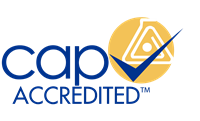 Accredited by the CAP Laboratory Accreditation Program