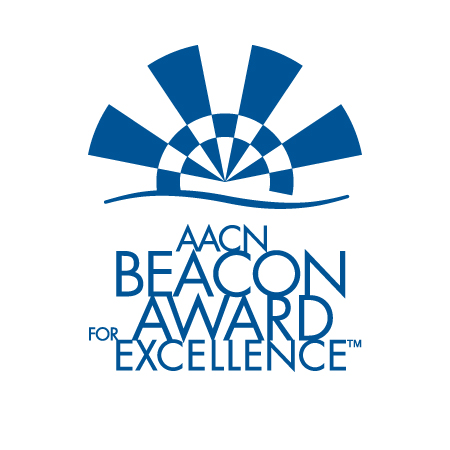 Critical Care Unites Awarded the AACN Beacon Award for Excellence