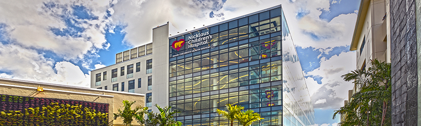 Nicklaus' Children's Hospital Advanced Pediatric Care Pavilion