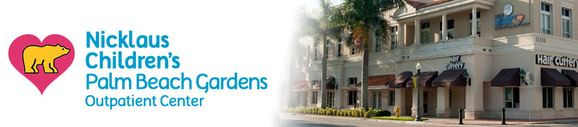 Nicklaus Children's Palm Beach Gardens Outpatient Center
