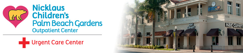 Palm beach gardens pediatric urgent care nicklaus children 39 s hospital for Urgent care palm beach gardens