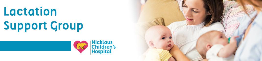 Lactation Group | Nicklaus Children's Hospital