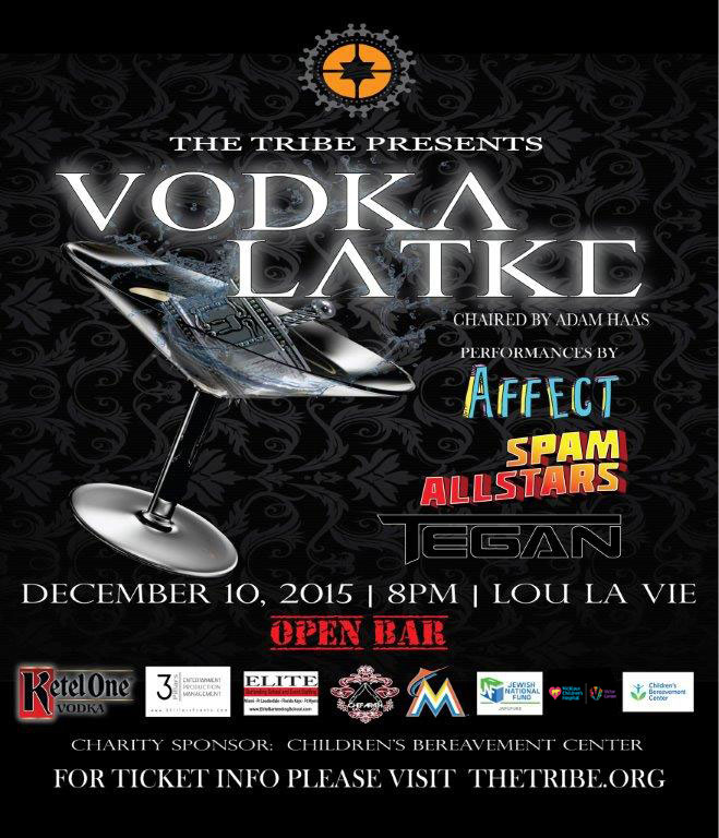 The Tribe Presents: Vodka Latke