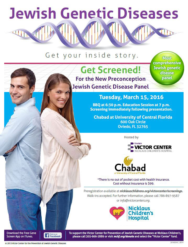 Jewish Genetic Disease Screening