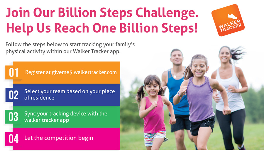 Join our Healthy Kids Challenge