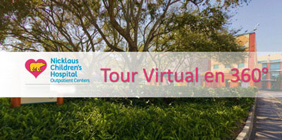 Tour Virtual de Nicklaus Children's Hospital