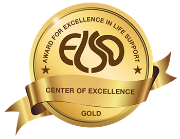 Gold Level ELSO Award for Excellence in Life Support from the Extracorporeal Life Support Organization