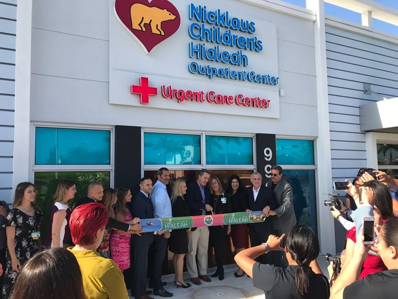 Hialeah Community Celebrates The Opening Of Outpatient Center