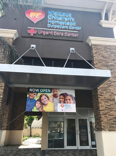 Nicklaus Children S Opens Pediatric Urgent Care Facility In City Of