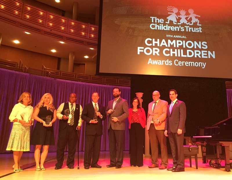 Champions for Children Awardees