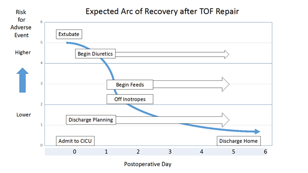 Expected Arc of Recovery after TOF Repair