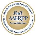 Logotipo de Association for the Accreditation of Human Research Protection Programs, Inc.
