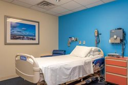 The Sleep Disorders room where our sleep studies take place feature state-of-the-art technology.