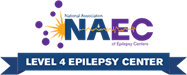 Accredited by the National Association of Epilepsy Centers
