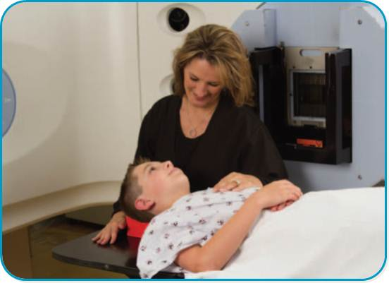 Radiation therapy at Nicklaus Children's Hospital, anteriormente Miami Children's Hospital