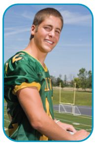 Nicklaus Children's Hospital, formerly Miami Children's Hospital, is reaching out to the region's young athletes by offering free EKG screening to middle and high school sports participants.- Image of teen football player on the field.