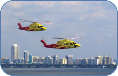 critical care transport - life flight helicopters