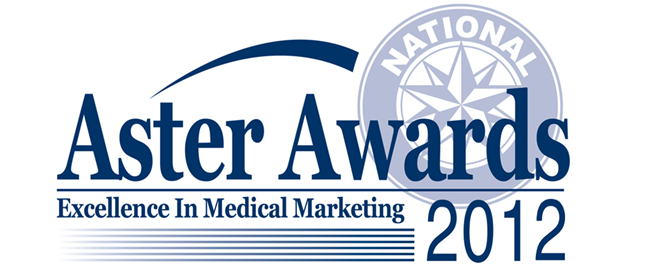 Aster Awards Excellence in Medical Marketing in 2012