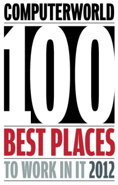 Computerworld 100 Best Places to Work in IT 2012
