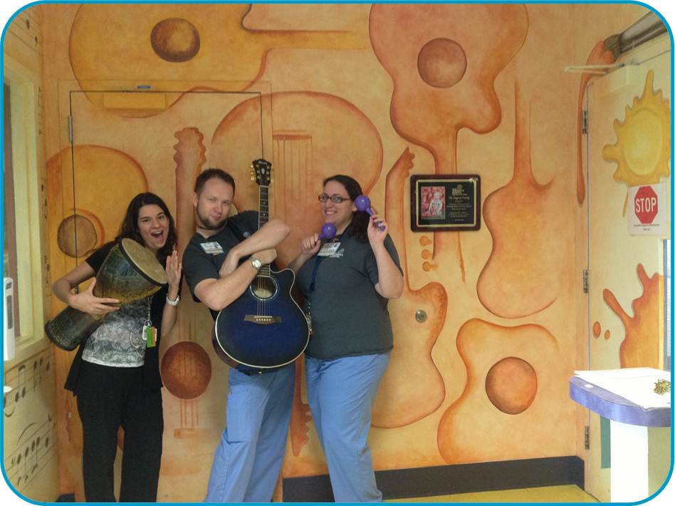 Music Therapy at Miami children's hospital