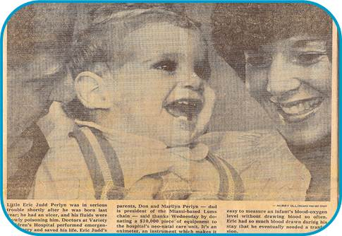 Eric Newspaper clipping picture