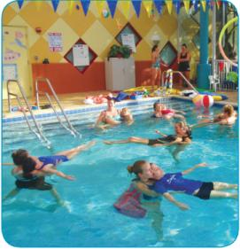 MCh Rehabilitation Services - image of children in pool