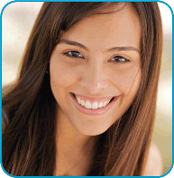 Adolescent Medicine Eating Disorders Services- Image of smiling Teen girl