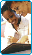Adolecent Medicine Additional Resources- links to articles on Teen Health and development- Image of mother and daughter reading