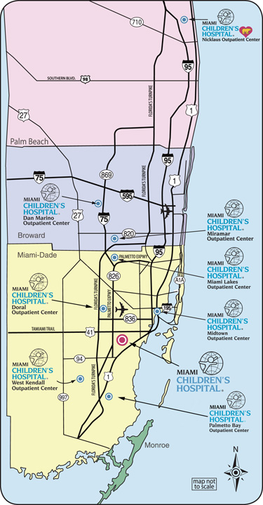 Miami Children's Hospital Locations